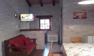 Novigrad, Living room in the apartment, WIFI.