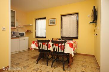 Umag, Dining room in the apartment, WIFI.