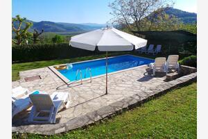 Apartmány s bazénem Motovun - Bataji, Vnitrozemí Istrie - Središnja Istra - 7069