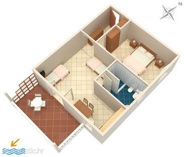 Sumartin, Plano in the apartment, WiFi.