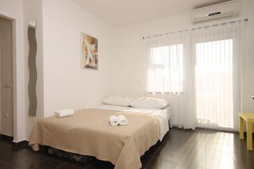 Funtana, Pokój dzienny w zakwaterowaniu typu apartment.