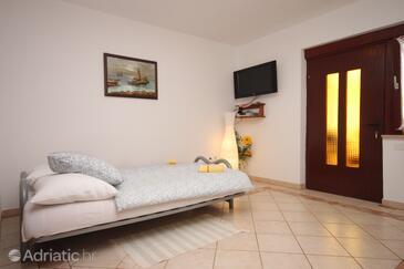 Funtana, Living room in the apartment, dopusteni kucni ljubimci i WIFI.