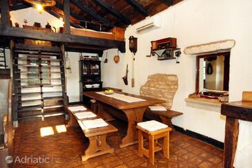 Sveti Petar u Šumi, Dining room in the house, dostupna klima, dopusteni kucni ljubimci i WIFI.