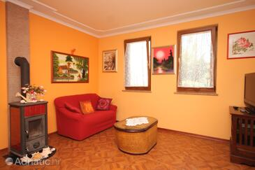 Rovinj, Living room in the apartment, WIFI.