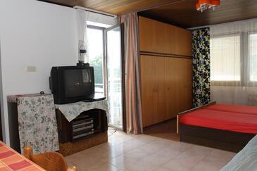 Dolinci, Dnevna soba v nastanitvi vrste studio-apartment, WiFi.