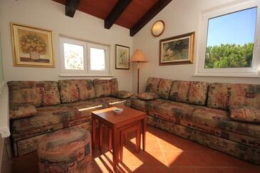 Novigrad, Obývací pokoj v ubytování typu apartment, WIFI.