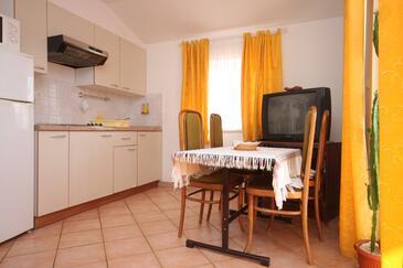Novigrad, Jadalnia w zakwaterowaniu typu apartment, zwierzęta domowe są dozwolone i WiFi.