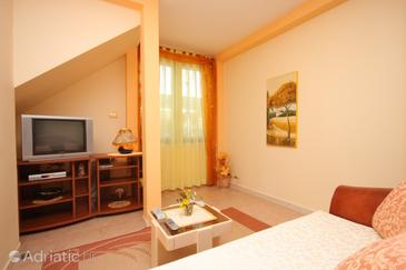 Buje, Obývací pokoj v ubytování typu house, WIFI.