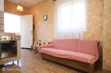 Umag, Living room in the apartment, dostupna klima, dopusteni kucni ljubimci i WIFI.