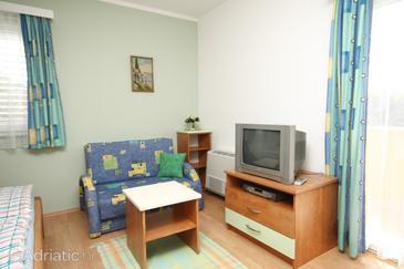 Buići, Living room in the studio-apartment, WIFI.