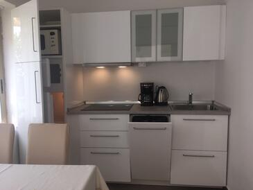 Novigrad, Kuchyňa v ubytovacej jednotke apartment, WiFi.