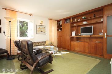 Rovinj, Dnevni boravak u smještaju tipa apartment, kućni ljubimci dozvoljeni i WiFi.