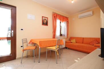 Sveti Ivan, Dining room in the apartment, dostupna klima i WIFI.
