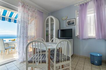 Puntinak, Jadalnia w zakwaterowaniu typu apartment, WIFI.