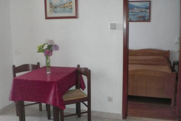 Rovinj, Dining room in the apartment, dostupna klima i WIFI.