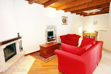 Gračišće, Living room 1 in the house, WiFi.
