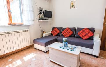 Lindar, Obývací pokoj v ubytování typu apartment, klimatizácia k dispozícii a WiFi.