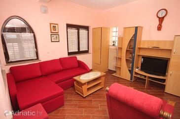 Medulin, Obývací pokoj v ubytování typu apartment, WiFi.