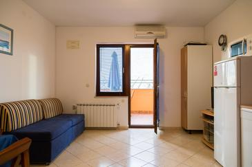 Peroj, Living room in the apartment, WiFi.