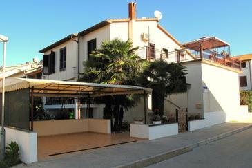 Fažana, Fažana, Alloggio 7260 - Appartamenti affitto con la spiaggia ghiaiosa.