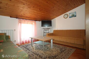 Fažana, Living room in the apartment, WIFI.