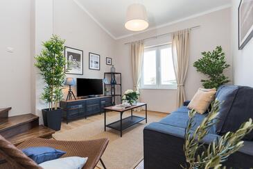 Poreč, Obývací pokoj v ubytování typu apartment, WiFi.