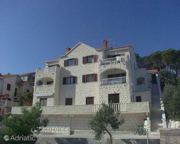 Postira, Brač, Property 727 - Apartments with pebble beach.