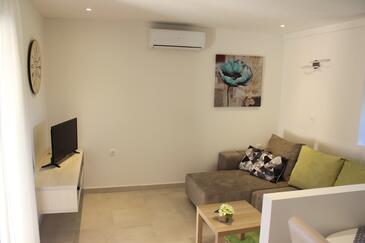 Valbandon, Гостиная в размещении типа apartment, доступный кондиционер и WiFi.