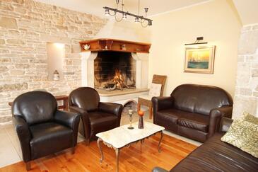 Rakalj, Living room 1 in the house, WIFI.