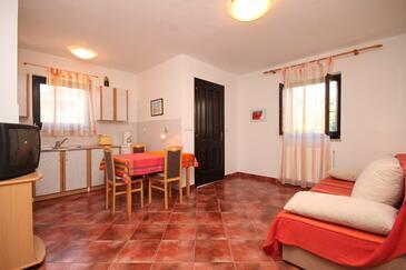 Valbandon, Obývacia izba v ubytovacej jednotke apartment, WIFI.