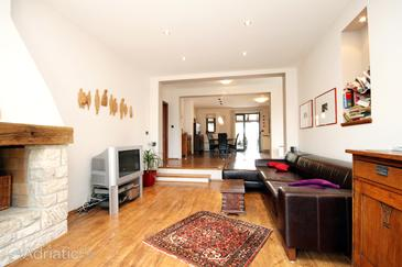 Pavičini, Living room in the house, dopusteni kucni ljubimci i WIFI.