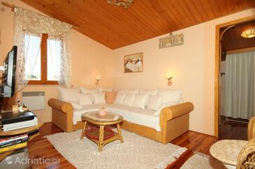 Rovinj, Living room in the studio-apartment, WIFI.