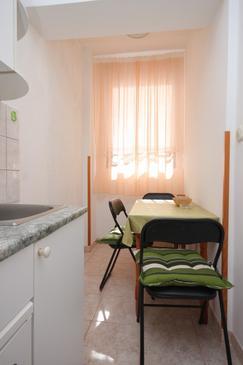 Banjole, Jadalnia w zakwaterowaniu typu apartment, WIFI.