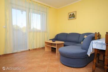 Peroj, Obývací pokoj v ubytování typu apartment, s klimatizací a WiFi.