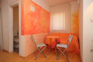 Medulin, Jadalnia w zakwaterowaniu typu studio-apartment, dopusteni kucni ljubimci i WIFI.