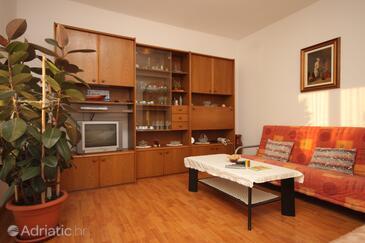 Fažana, Living room in the apartment, dopusteni kucni ljubimci.