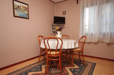 Medulin, Jedáleň v ubytovacej jednotke apartment, WIFI.