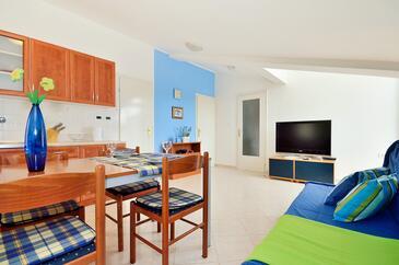 Poreč, Living room in the apartment, WIFI.
