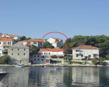 Postira, Brač, Property 739 - Apartments near sea with pebble beach.
