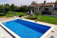 Prázdninový dům s bazénem Čepić (Vnitrozemí Istrie - Središnja Istra) - 7404