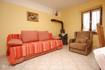 Valtura, Living room in the house.