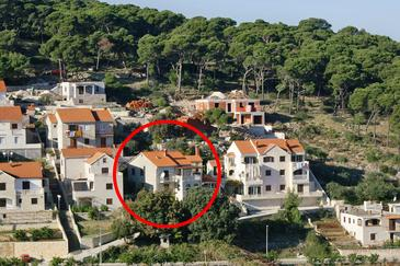 Postira, Brač, Property 741 - Apartments with pebble beach.