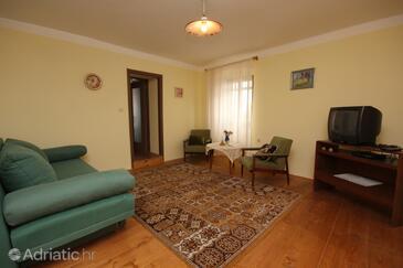 Sveti Martin, Living room in the apartment.