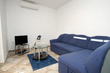 Vinkuran, Living room in the apartment, dostupna klima i dopusteni kucni ljubimci.