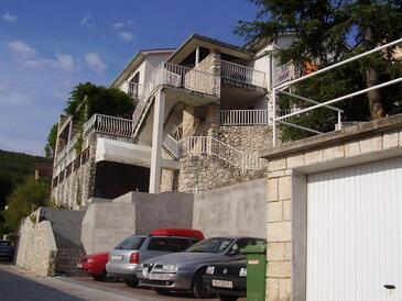 Rabac, Labin, Objekt 7438 - Apartmani sa šljunčanom plažom.