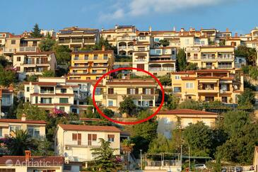 Rabac, Labin, Property 7440 - Apartments with pebble beach.