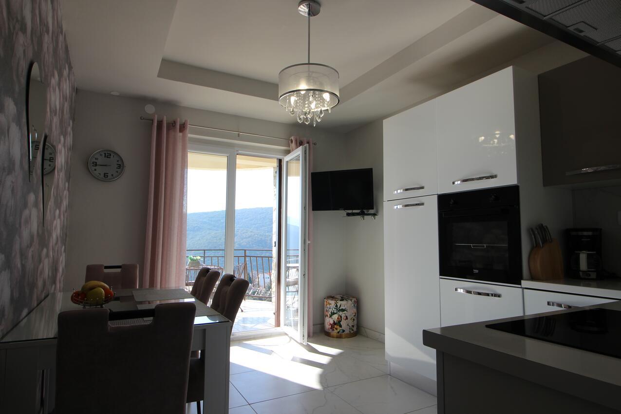 Ferienwohnung im Ort Rabac (Labin), Kapazität Ferienwohnung in Istrien