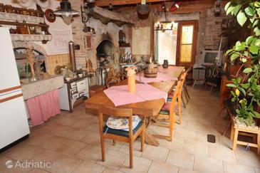 Novi Vinodolski, Dining room in the apartment, dopusteni kucni ljubimci i WIFI.