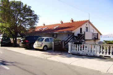 Novi Vinodolski, Novi Vinodolski, Property 7449 - Apartments with pebble beach.
