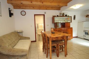 Kožljak, Blagovaonica u smještaju tipa apartment, kućni ljubimci dozvoljeni.